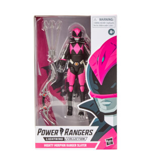 Hasbro Power Rangers Lightning Collection Mighty Morphin Slayer Ranger 6-Inch Premium Collectible Action Figure