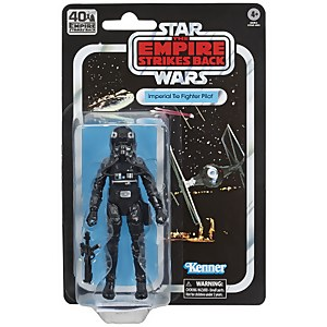 Star Wars The Black Series - Figurine de pilote de chasseur TIE impérial