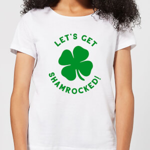 Let's Get Shamrocked! Women's T-Shirt - White