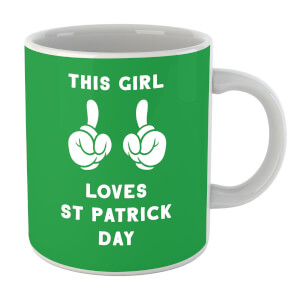 This Girl Loves St Patrick Day Mug
