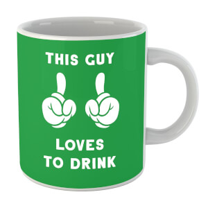 This Guy Loves To Drink Mug