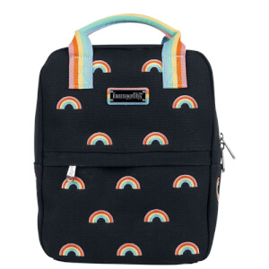 Loungefly Pride Canvas Rainbows Mini Backpack