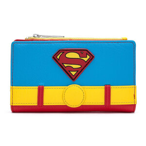 Loungefly Dc Comics Vintage Superman Cosplay Wallet