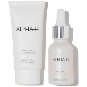 Alpha-H Vitamin C Serum and Moisturiser