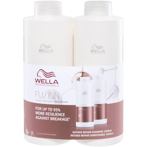 Wella Professionals Care Fusion Intense Repair Duo 2 x 1000ml (Worth $150.00)