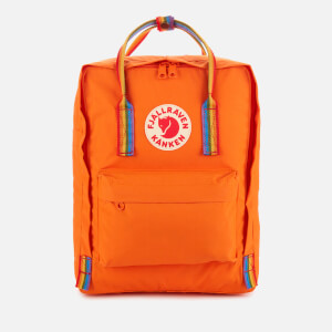 Fjallraven Kanken Rainbow Backpack - Burnt Orange