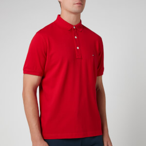 Tommy Hilfiger Men's Slim Polo Shirt - Primary Red