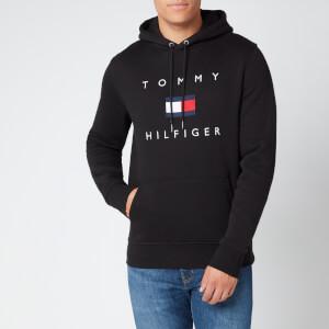 Tommy Hilfiger Men's Flag Hoody - Black