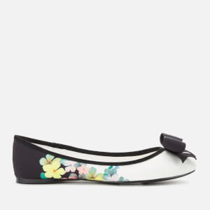 Ted Baker Women's Suallys Floral Ballet Flats - Ivory
