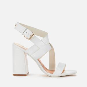 Ted Baker Women's Kaseraa Block Heeled Sandals - White