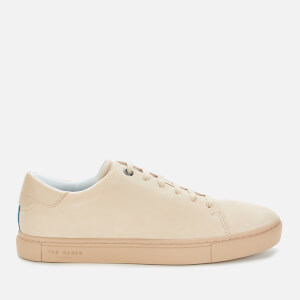 Ted Baker Men's Ruprt Leather Cupsole Trainers - Beige