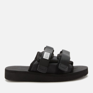 Suicoke Moto-Cab Nylon Slide Sandals - Black