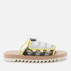 Suicoke Men's Dao-2 Nylon Slide Sandals - Yellow