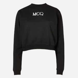 McQ Alexander McQueen Women's Set Sweatshirt - Darkest Black