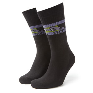 Men's TMNT Sports Socks - Black