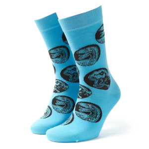 Men's Jurassic World Socks - Blue