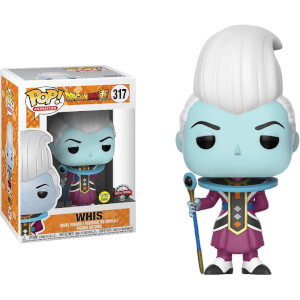 Dragon Ball Super - Whis EXC Figura Funko Pop! Vinyl (GITD)