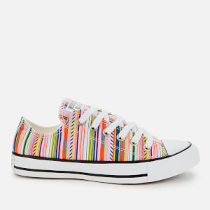 Converse Women's Chuck Taylor All Star Daisy Ox Trainers - White/Multi/Black