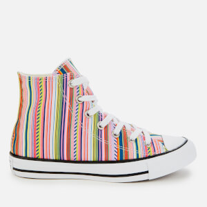 Converse Women's Chuck Taylor All Star Hi-Top Trainers - White/Multi/Black