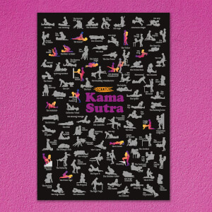 Scratch Poster - Kama Sutra