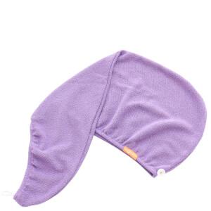 Aquis 单色奢华款干发帽 | 鸢尾花