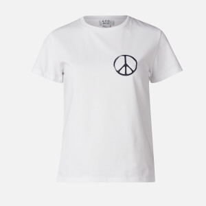 A.P.C. Women's Peace T-Shirt - White