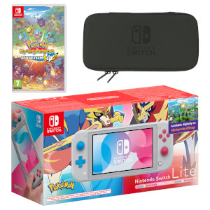 Nintendo Switch Lite (Zacian & Zamazenta Edition) Pokémon Mystery Dungeon Rescue Team DX Pack
