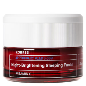 KORRES Wild Rose Night-Brightening Sleeping Facial Cream 40ml