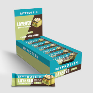 Myprotein Retail Layer Bar, Matcha, 12 x 60g