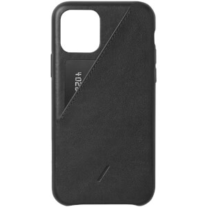 Native Union Clic Card iPhone Case - Black
