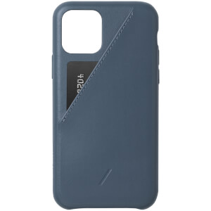Native Union Clic Card iPhone Case - Navy