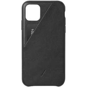 Native Union Clic Card iPhone 11 Pro Max Case - Black