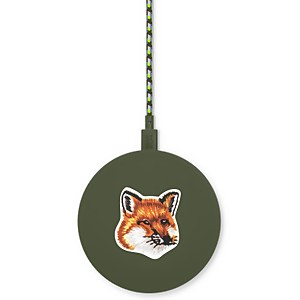 Native Union X Maison Kitsuné Drop Wireless Charger - Green