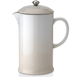 Le Creuset Stoneware Cafetiere Coffee Press - Meringue