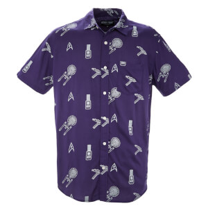Limited Edition Star Trek Printed Shirt - Zavvi Exclusive