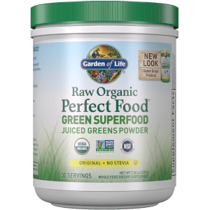 Raw Organic Perfect Food Green Superfood Original - 207g Powder
