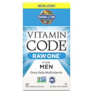 Vitamin Code Raw One Hommes - 30 Capsules