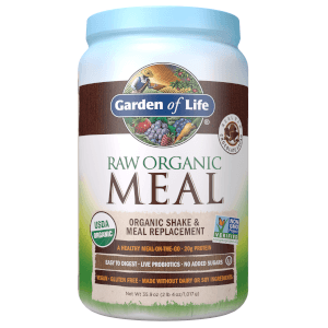 Raw Organic Meal Chocolate 1017g Powder