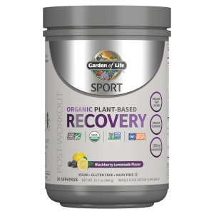 Sport Organic Plant-Based Recovery - Blackberry Lemonade - 446g