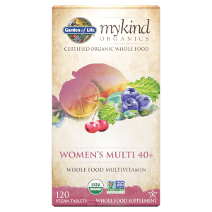 mykind Organics Women's 40+ Multivitamins - Berry - 120 Gummies