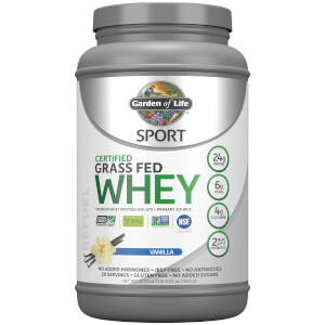 Спортивный протеин Sport Grass Fed Whey - Ваниль - 640 г