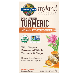 mykind Organics Herbal Turmeric - Extra Strength - 60 Tablets