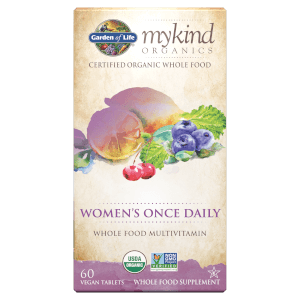 mykind Organics Women's Once Daily 有機每日一次女士專用 - 60 錠