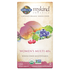 mykind Organics Vrouwen 40+ Multivitaminen - 120 tabletten
