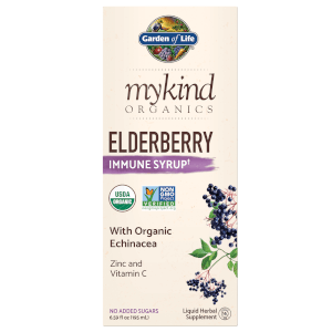 Garden of Life mykind Organics Herbal Elderberry Syrup 6.59oz Liquid