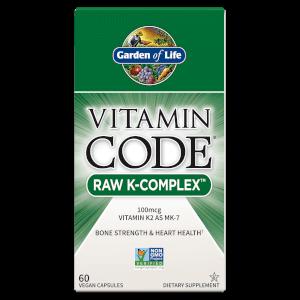 Vitamine Code Raw K-Complex - 60 capsules