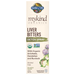 mykind Organics Herbal Liver Bitters Spray - 58ml