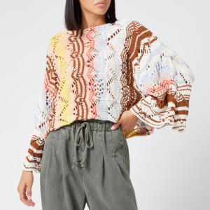 Free People Women's Coral Reef Pullover - Assort