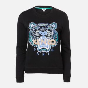 KENZO Women's Actua Tiger Sweatshirt - Black
