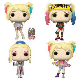 Birds of Prey Harley Quinn Pop Vinyl Pop! Collection